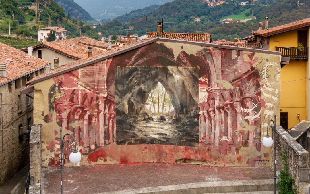 Wall in Art: muri d'arte nella Valle dei Segni
