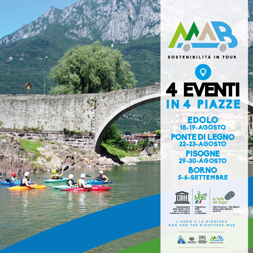 4 eventi in 4 piazze, mab valle camonica