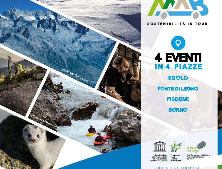 THE MAB EXPERIENCE, sostenibilità in tour | Agosto/Settembre 2020