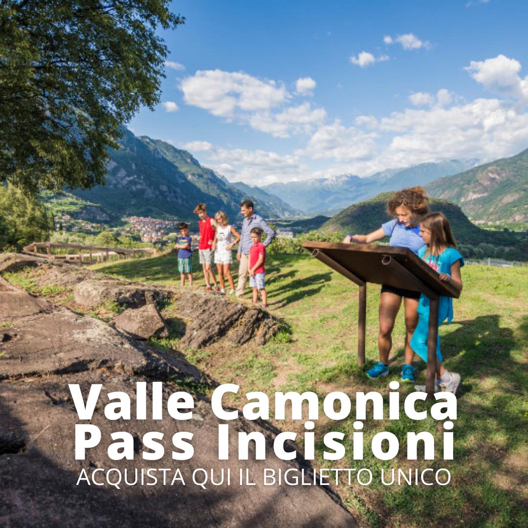 Valle Camonica Pass Incisioni, acquista qui il biglietto unico