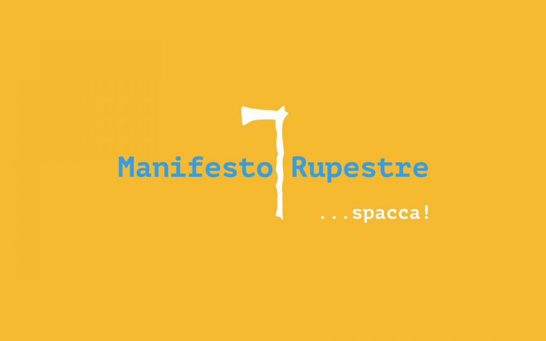 Manifesto Rupestre, comunicato stampa