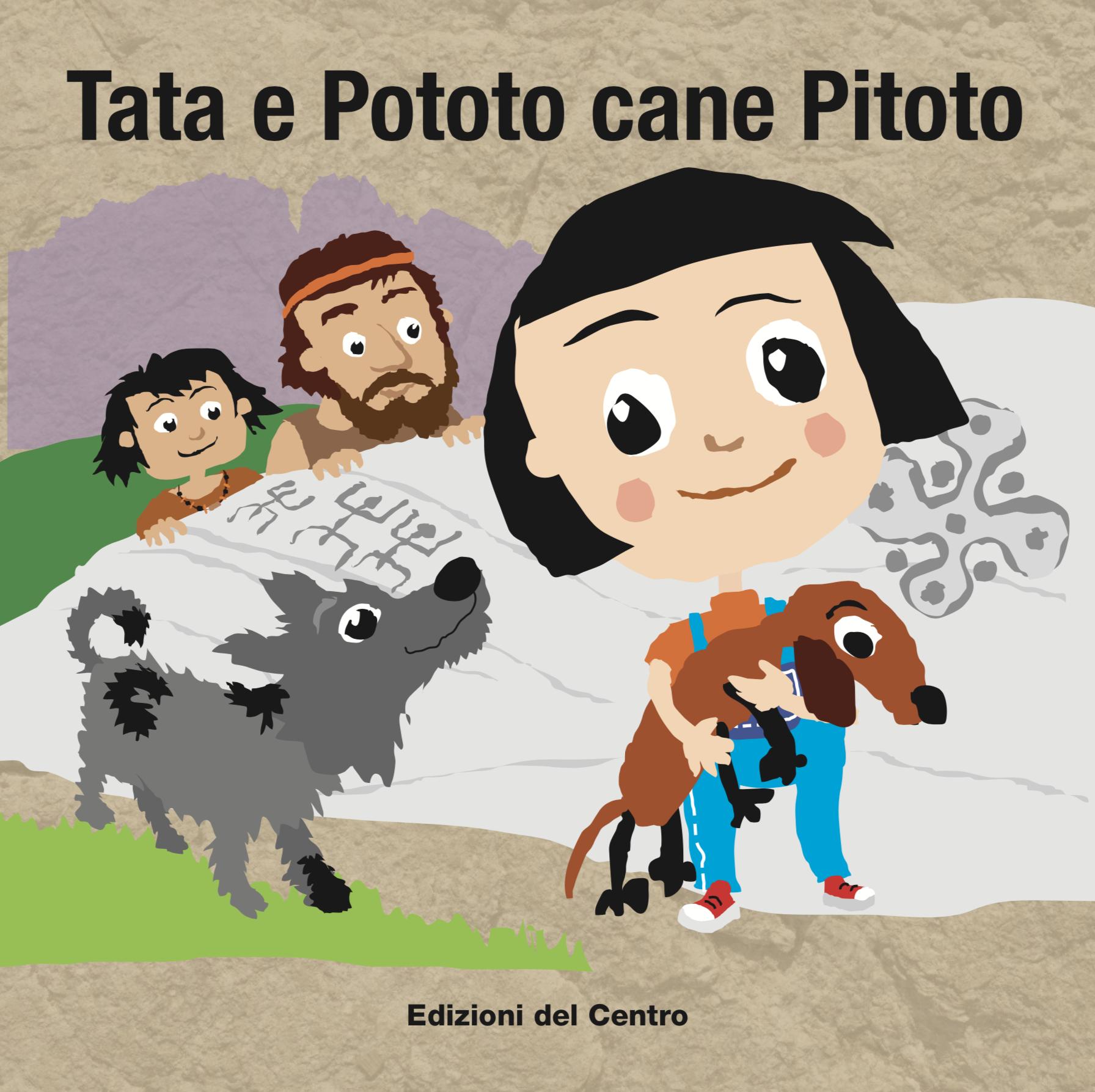 """COPERTINA DEL LIBRETTO """"TATA E POTOTO CANE PITOTO"""""""